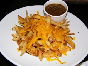 Fancy chili cheese fries